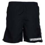 BONDI LIFEGUARD MENS BLACK BOARD SHORTS